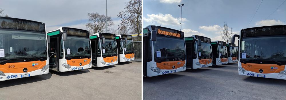 flotta autobus