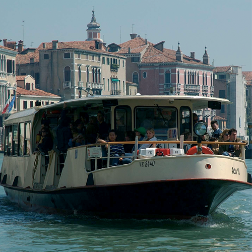 water bus service timetable actv